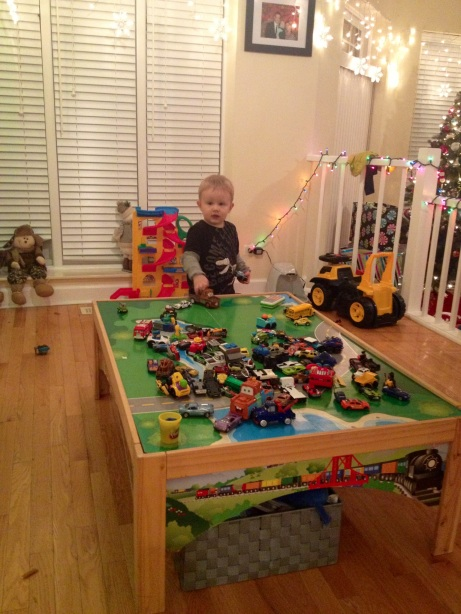 Jack's new playroom