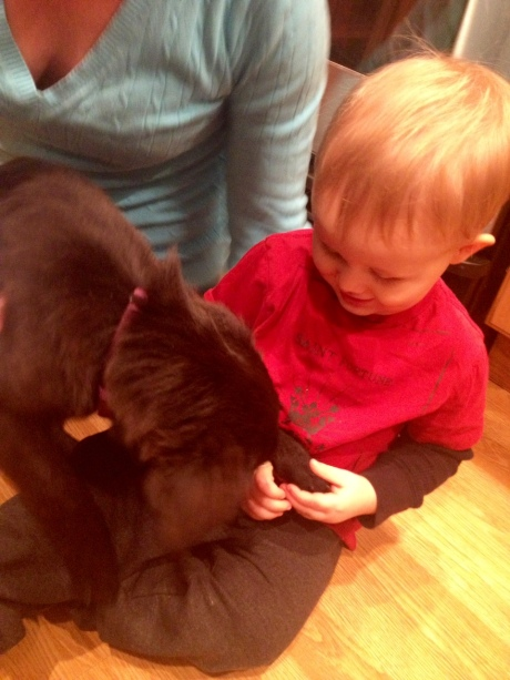 Jack and the pup